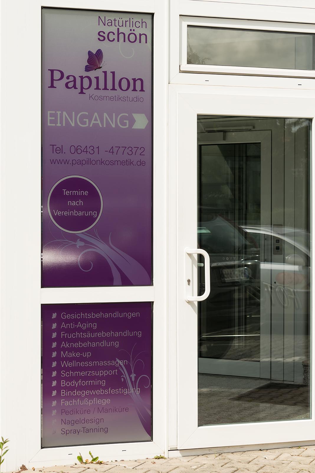 Eingang Papillon