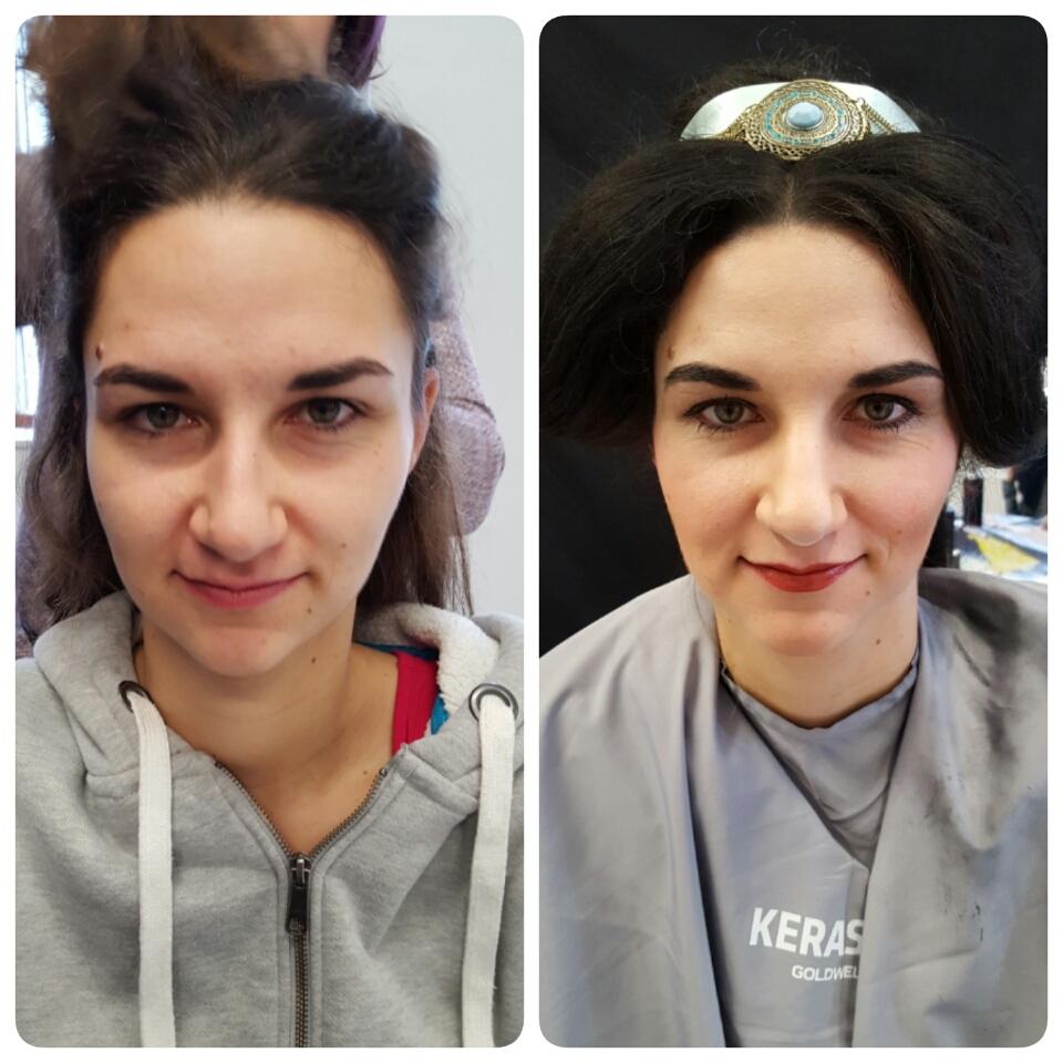 MakeUp Frisur 2 Kosmetikstudio Papillon